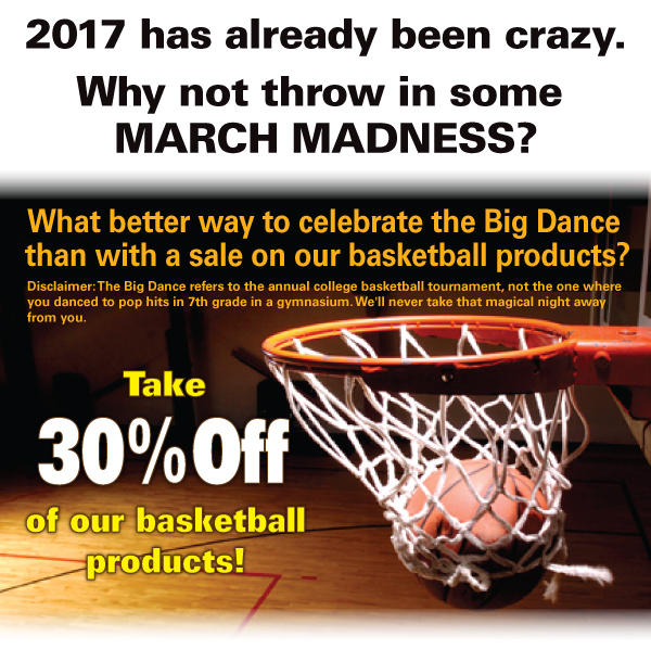 Take 30% Off of our basketballproducts!