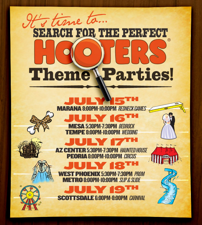 Search for the Perfect Hooters!