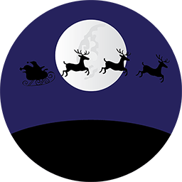 Santa-Moon