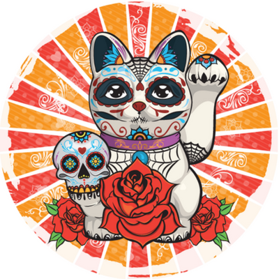 Day of the Dead-cat