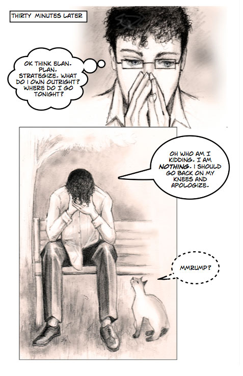 Chapter 1 - Disowned - Page 3
