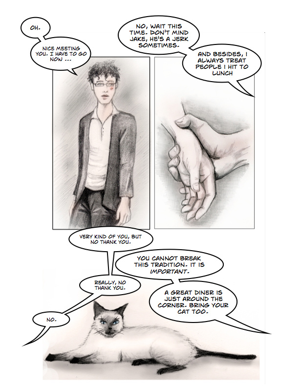 Chapter 2 - Queenie's - Page 5