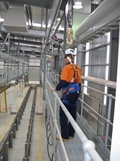 Fall Protection System Installed At South Australia S Railcar Depot