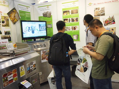 Waste management and green buildings at Eco Expo Asia 2013
