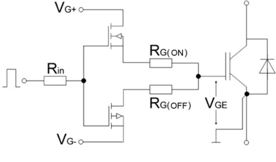 Efficient switching in IGBT applications on