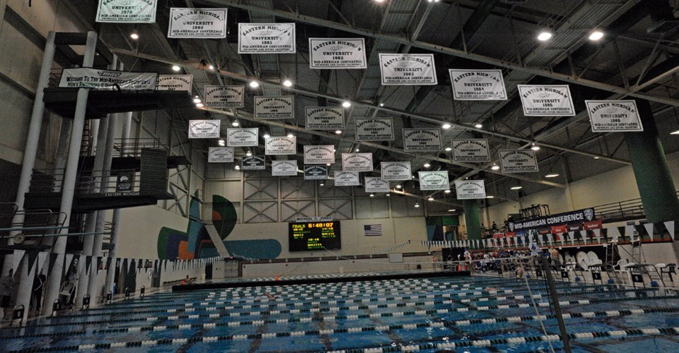The official website of eastern michigan athletics jones - University of michigan swimming pool ...