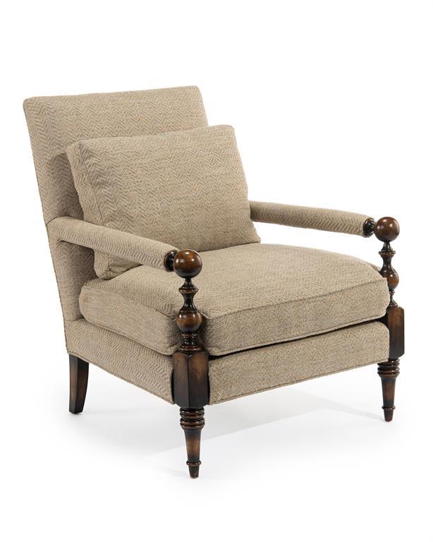 John Richard Transitional Chair At Livingston Furniture Tampa