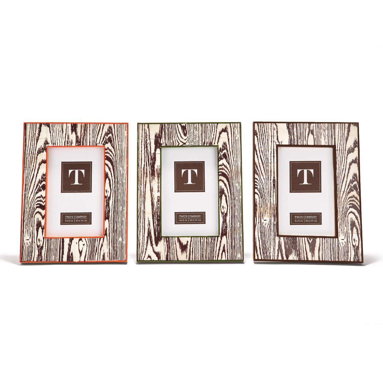 3a567d37539c Faux Boise 4x6 Frame A 3 Clr Asst 3 Colors. COLLECTION
