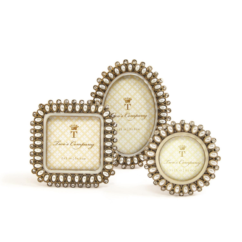 dd5755c535a Pearls Mini Frame Asst 3 StylesRound