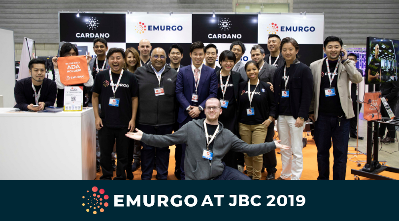 EMURGO at Japan Blockchain Conference 2019