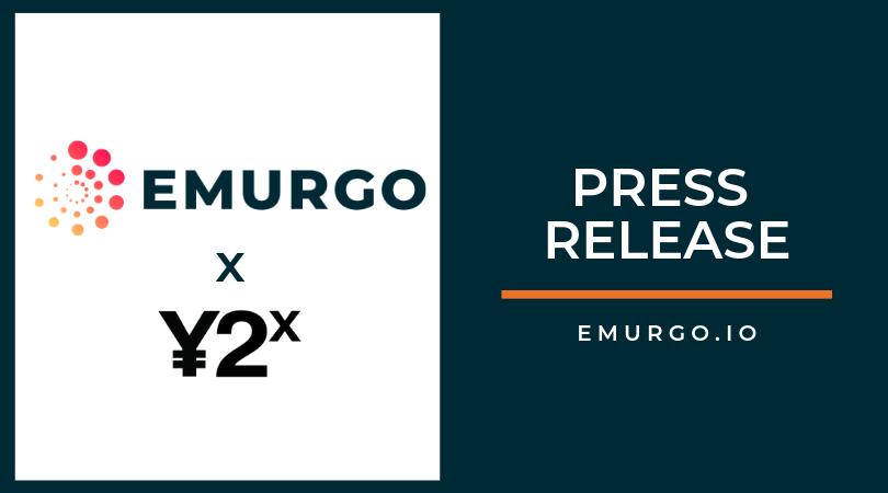 EMURGO、大手デジタル投資銀行Y2Xとの戦略投資、長期パートナーシップを構築