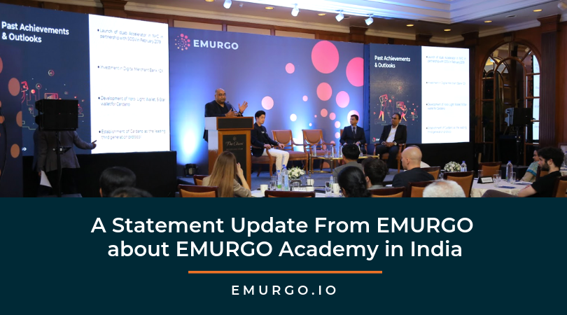 A Statement Update From EMURGO about EMURGO Academy in India