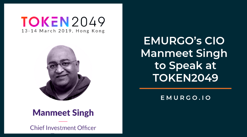 EMURGO's CIO Manmeet Singh to Speak at Upcoming Blockchain Conference TOKEN2049 in Hong Kong