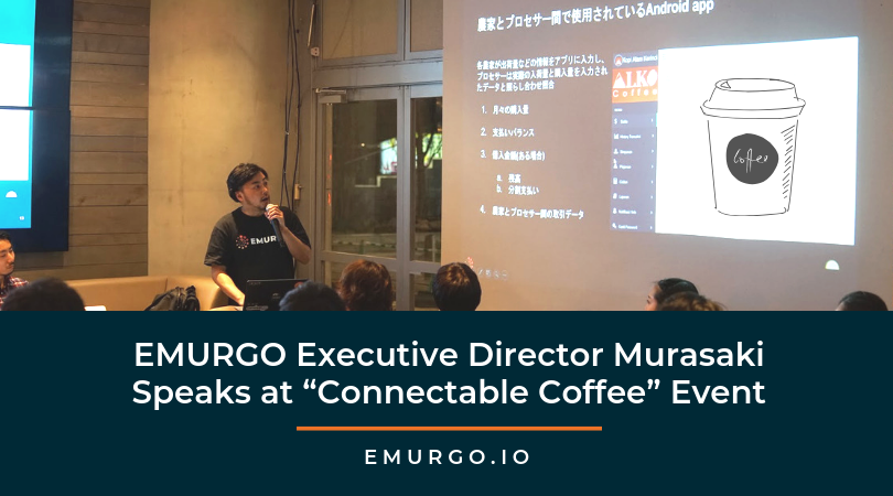 "EMURGO Executive Director Shunsuke Murasaki Speaks at ""Connectable Coffee"" Event"
