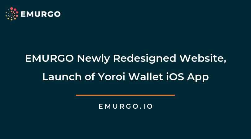 EMURGOのウェブサイトのデザインが刷新されました。また、ヨロイウォレットのiOSアプリケーションをAppleのApp Storeからご利用いただけるようになりました