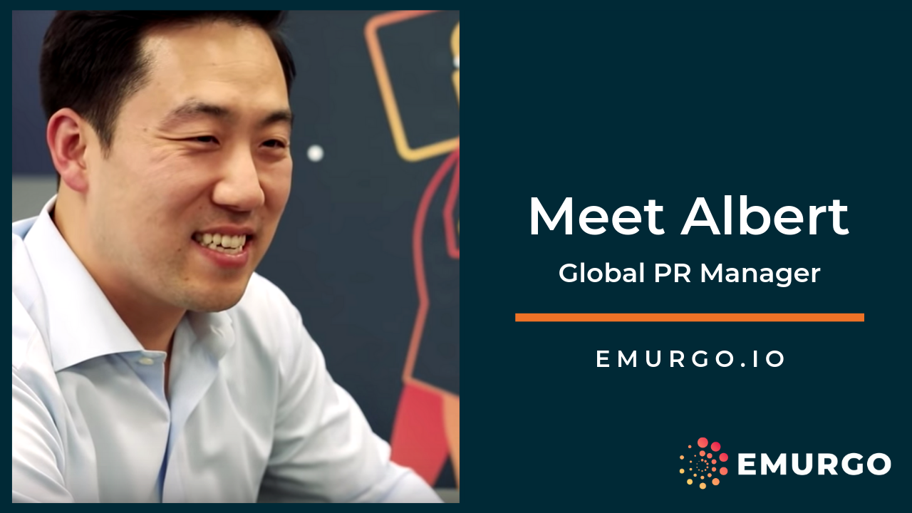 Meet Albert, EMURGO's Global PR Manager