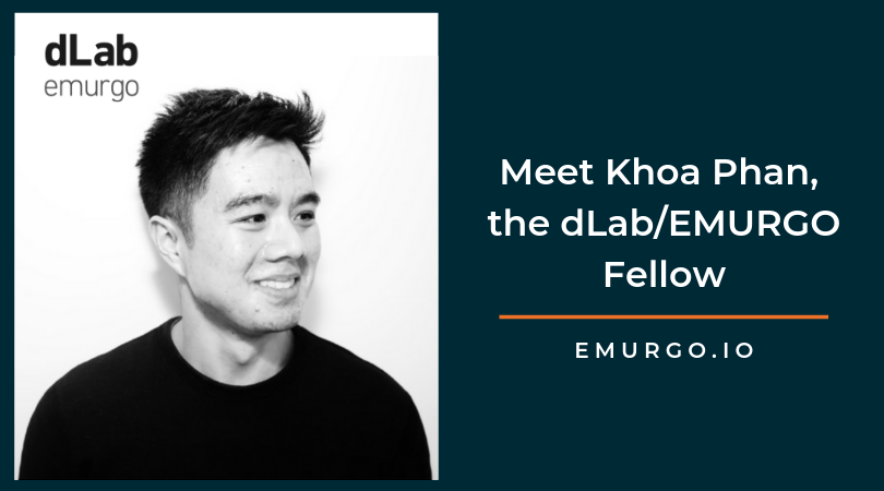 Meet Khoa Phan, the dLab/EMURGO Fellow Helping Cardano Stake Pool Operators & Developers Launch Applications via sōshen's API