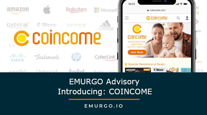 EMURGO Advisory Spotlight: COINCOME