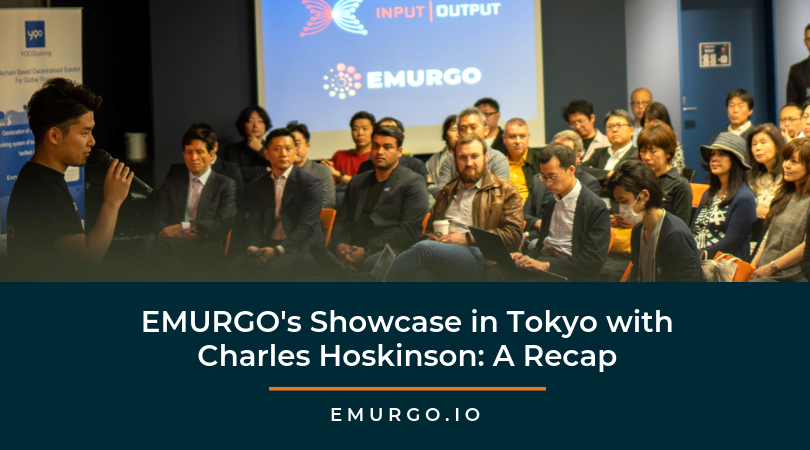 EMURGO's Showcase in Tokyo with Charles Hoskinson: A Recap