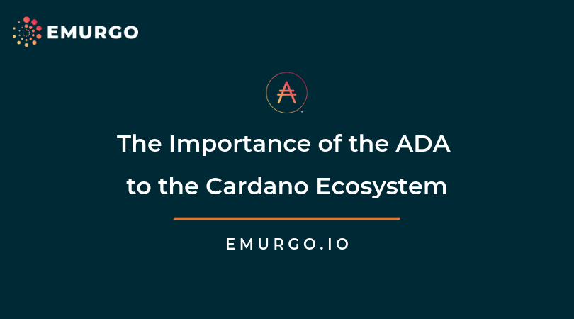 The Importance of the ADA Cryptocurrency to the Cardano Ecosystem