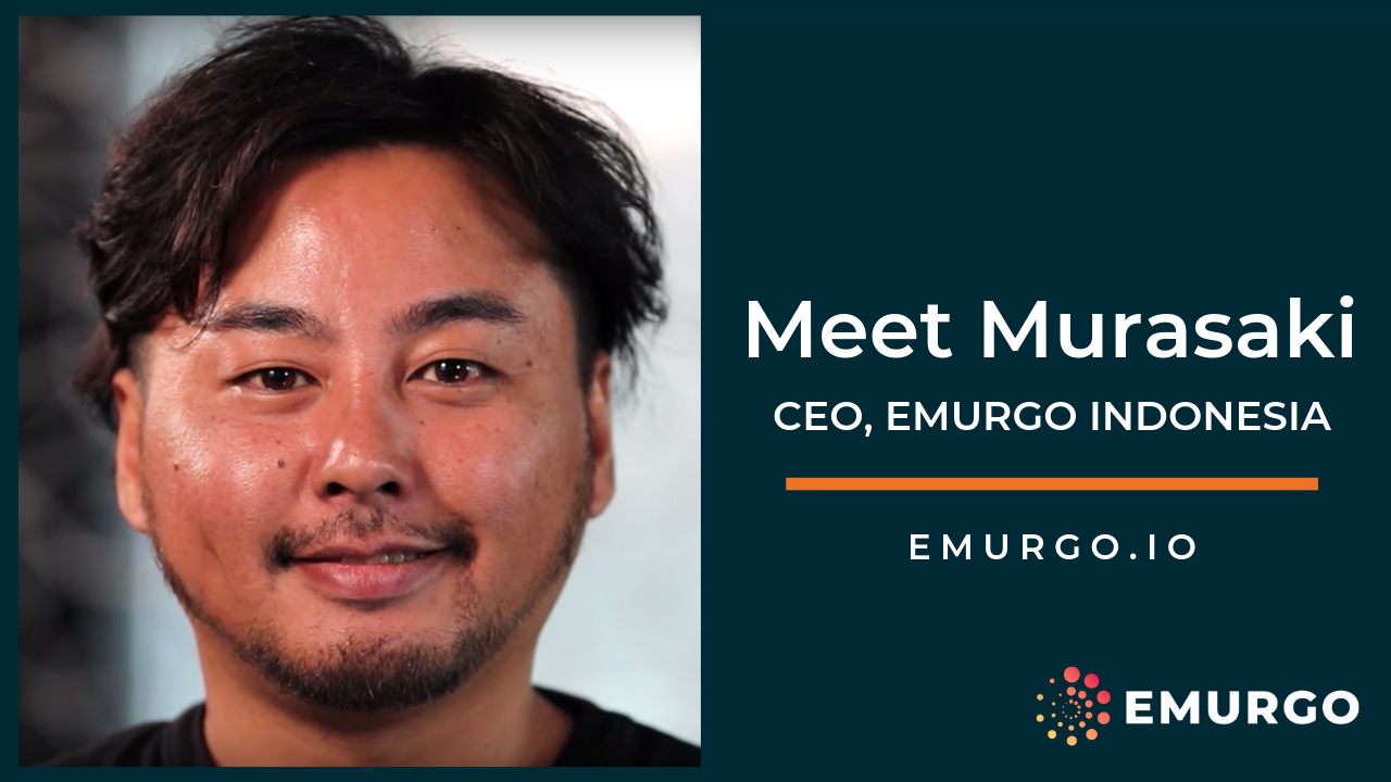 Meet Murasaki, Building a Global Cardano  as EMURGO Indonesia CEO