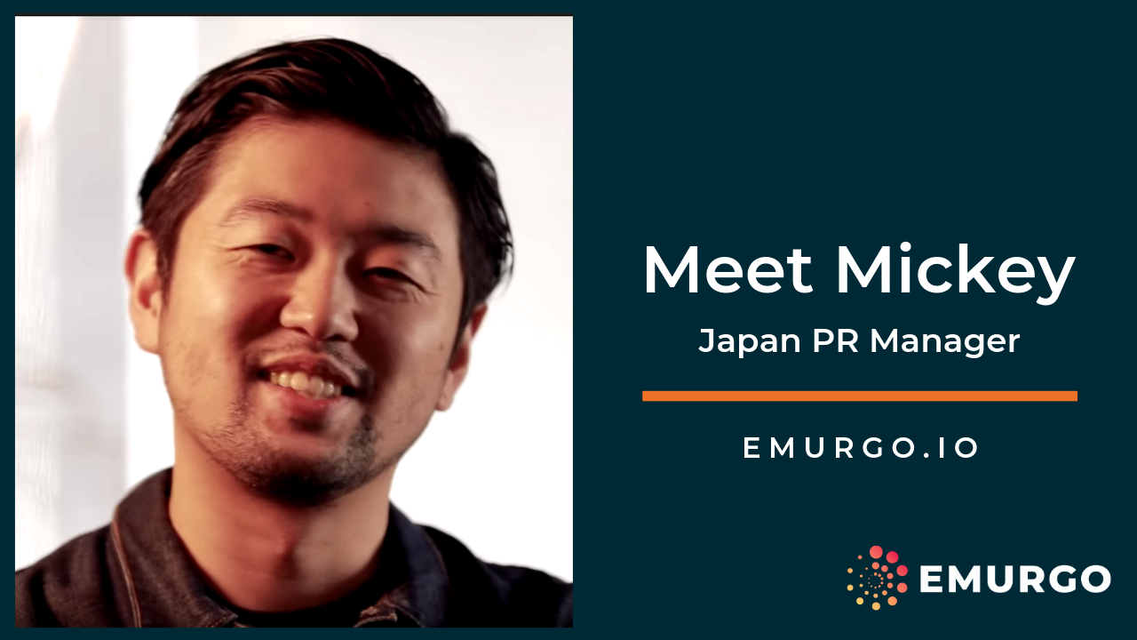 Meet Mickey: Building a Global Cardano as EMURGO's Japan PR Manager