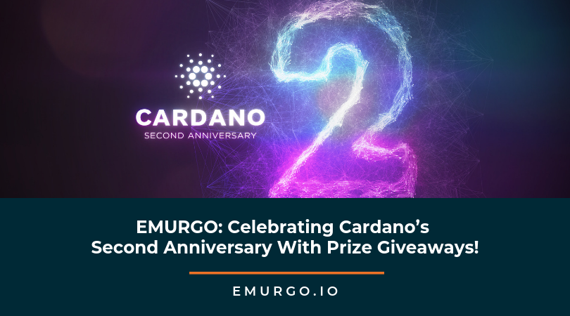 EMURGO: Celebrating Cardano's Second Anniversary With Prize Giveaways!