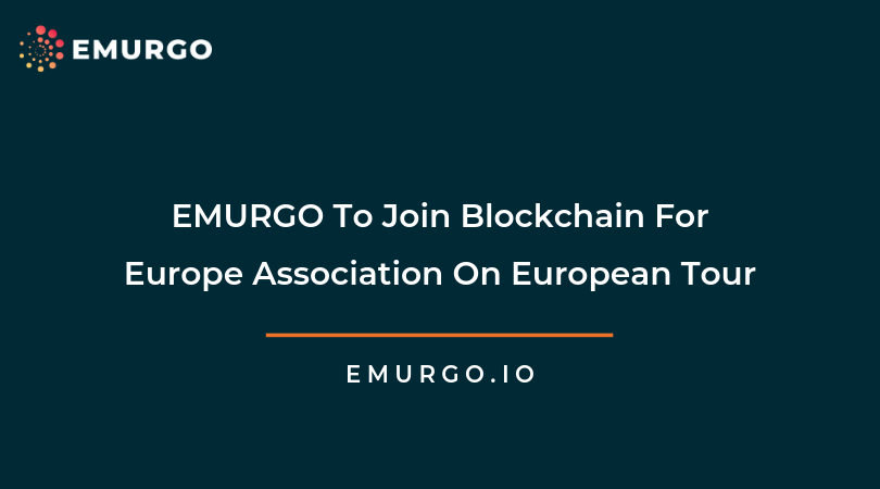 EMURGO To Join Blockchain For Europe Association On European Tour