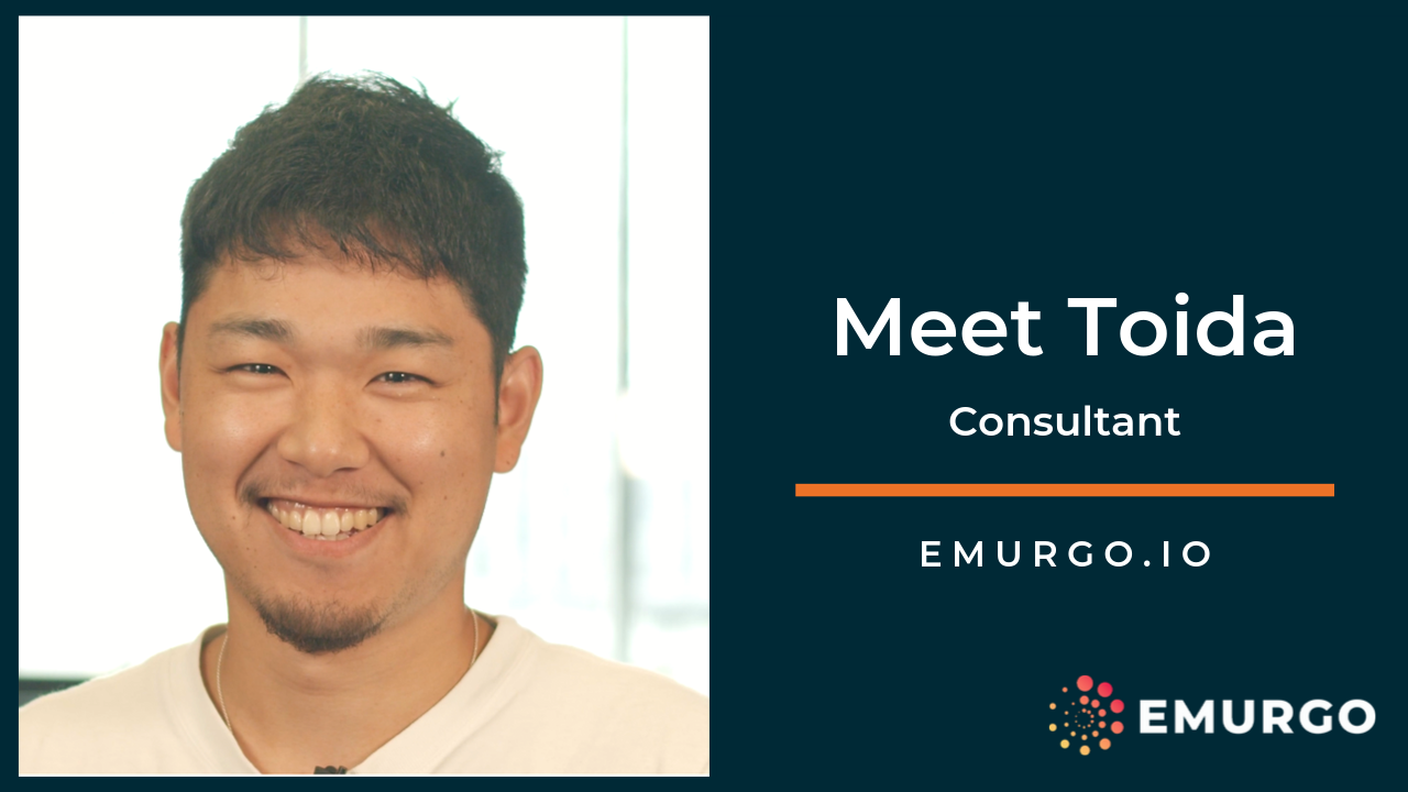 Meet Toida, Building a Global Cardano  as part of EMURGO's Blockchain Advisory Team