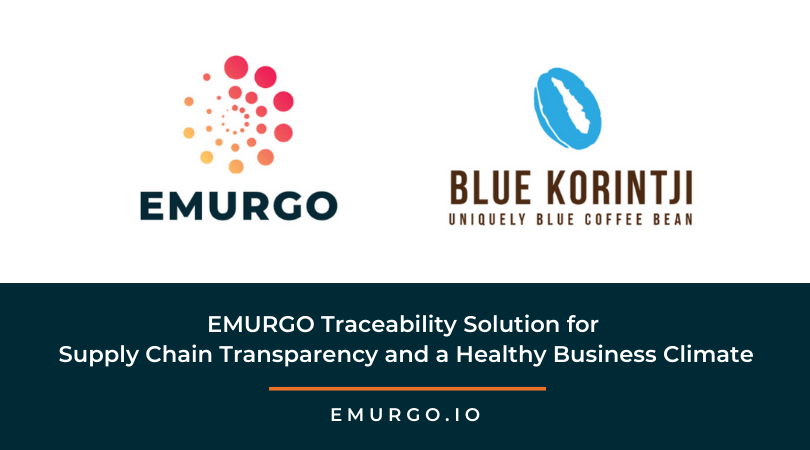 EMURGO Traceability Solution for Supply Chain Transparency and a Healthy Business Climate