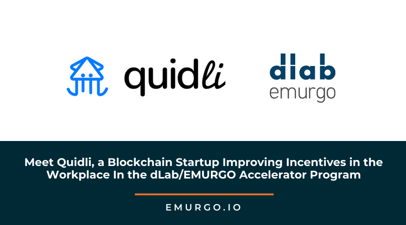 Meet Quidli, a Blockchain Startup Improving Incentives in the Workplace  in the dLab/EMURGO Accelerator Program