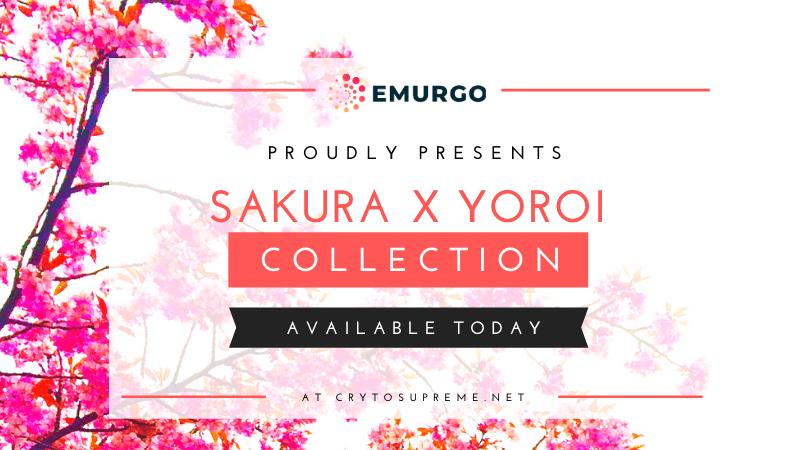 EMURGO Limited Edition Merchandise: Sakura x Yoroi Wallet