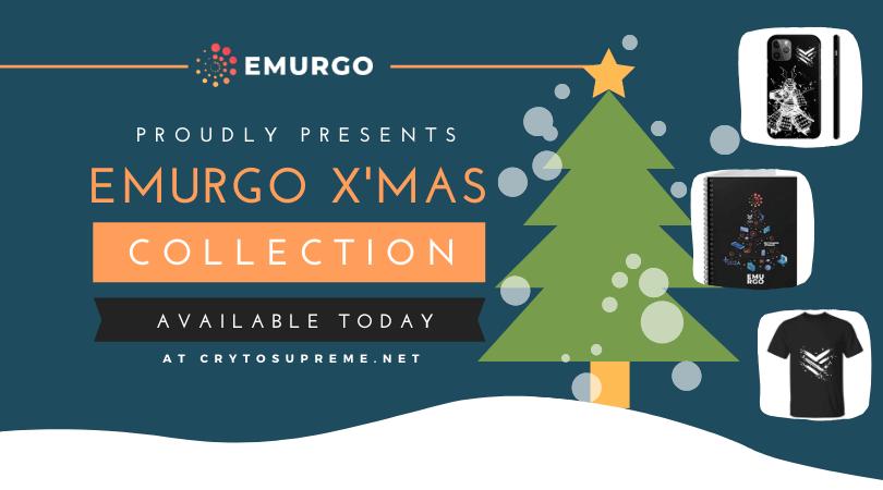 クリスマスキャンペーン! EMURGO公式グッズを15%オフで手に入れよう