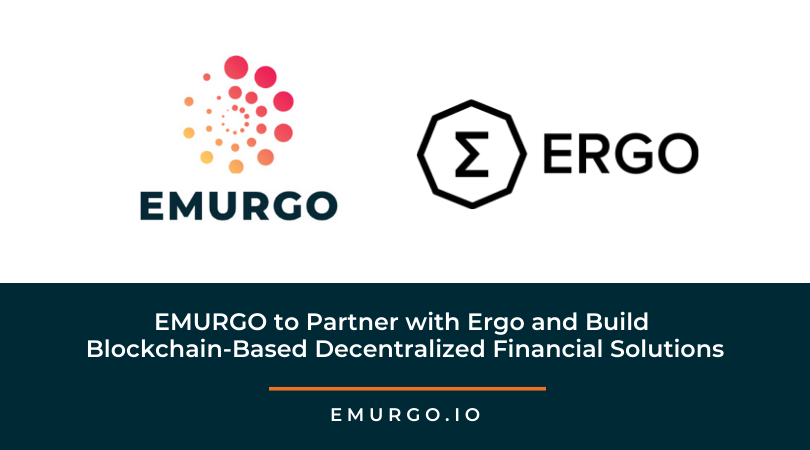 EMURGO to Partner with Ergo and Build Blockchain-Based Decentralized Financial Solutions