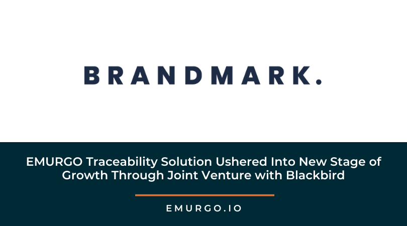 EMURGO Traceability Solution Ushered Into New Stage of Growth Through Joint Venture with Blackbird