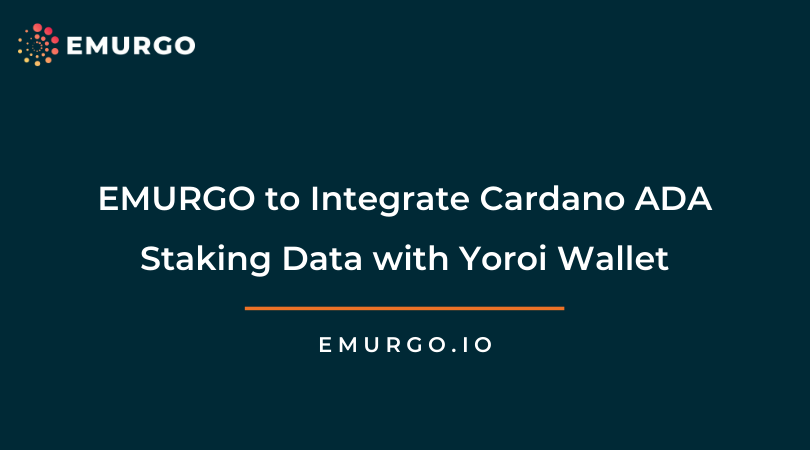 EMURGO Partners with ADApools.org by CARDANIANS for Yoroi Wallet Staking Data