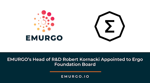 EMURGO's Head of R&D Robert  Kornacki Appointed to Ergo Foundation Board