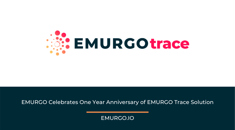 EMURGO's Traceability Solution - A One Year Anniversary