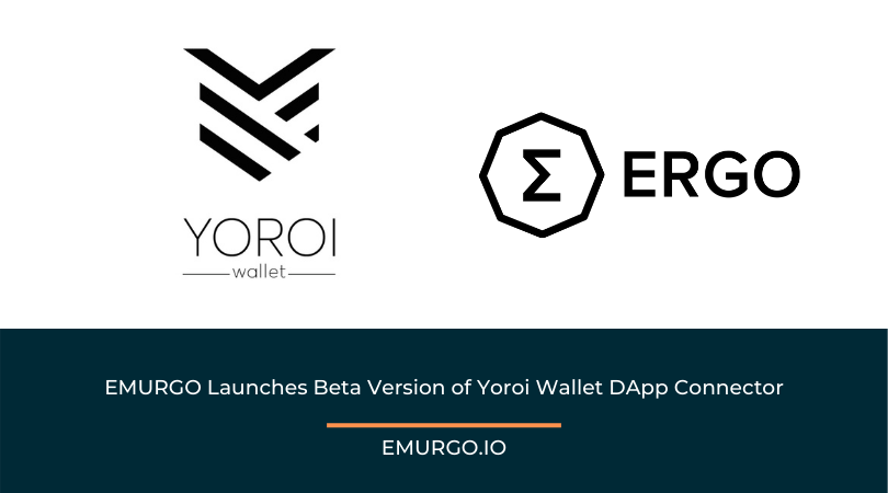 EMURGO Launches Beta Version of Yoroi Wallet DApp Connector