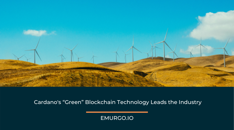 """Cardano's """"Green"""" Blockchain Technology Leads the Industry"""