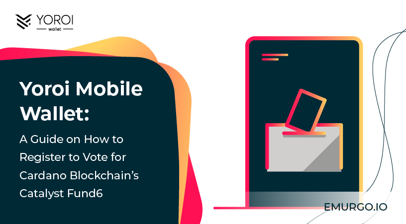 Yoroi Mobile: How to Register to Vote for Cardano's Catalyst Fund6