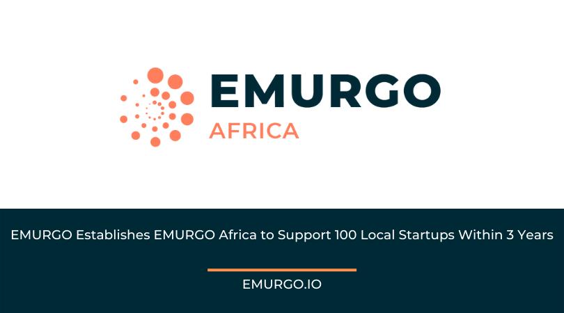 EMURGO Establishes EMURGO Africa to Support 100 Local Startups Within 3 Years