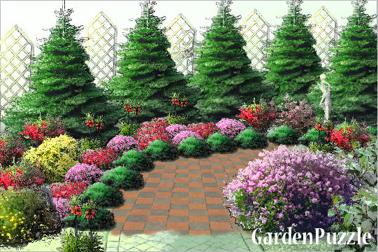 pathway design & GardenPuzzle - project pathway design