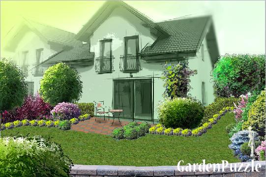 Simple House Garden gardenpuzzle - project simple house