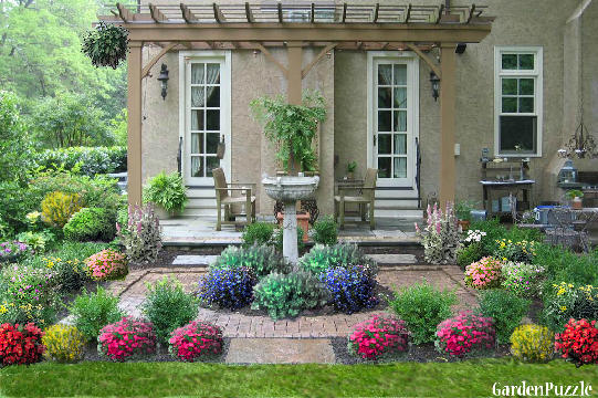 cottage garden - Front Yard Cottage Garden Ideas