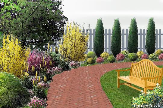 gardenpuzzle project corner garden