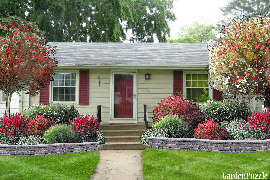 Attractive Small House Garden Designs Cadagu Com Part 25
