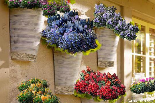 Flower Baskets Crossword Clue : Gardenpuzzle project hanging flower baskets