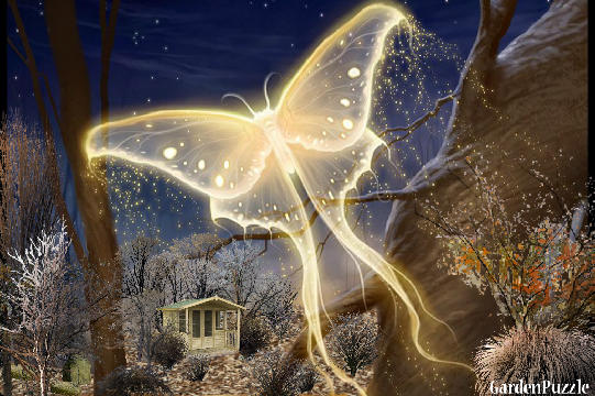 Gardenpuzzle Project Mystical Butterfly