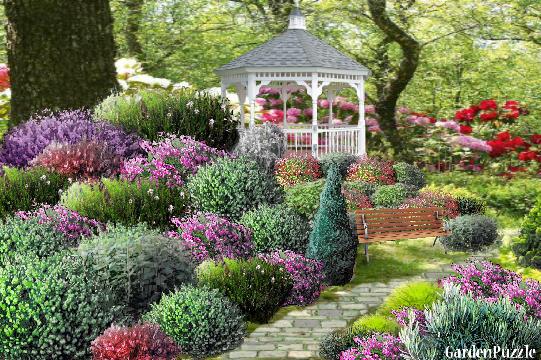 Gardenpuzzle Project Alanna S Shrub Garden
